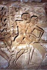 Engraved wrestling in Ancient Kush